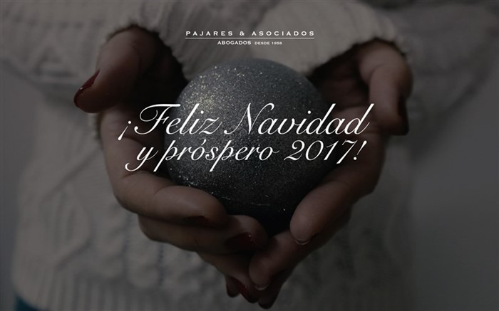 PAJARES & ASSOCIATES ATTORNEYS WISH YOU HAPPY CHRISTMAS AND PROSPERO YEAR 2017