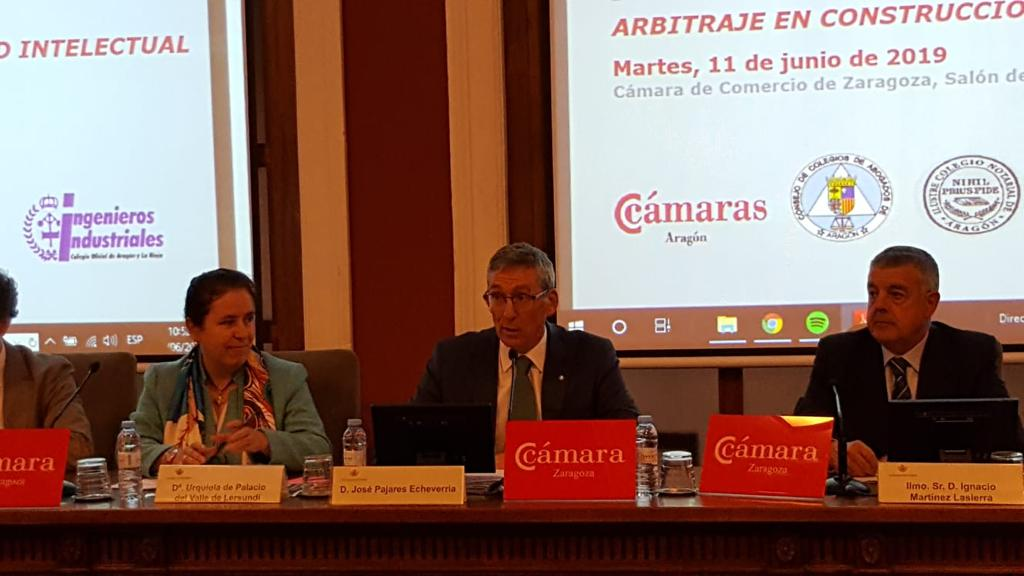 Conference Arbitration in Construction and Intellectual Property: Aragonese Court of Arbitration and Mediation - Civil and Commercial Court of Madrid