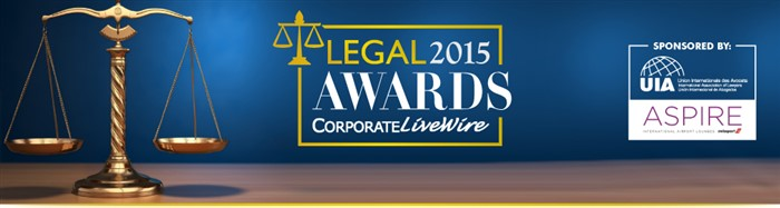 LEGAL CORPORATE AWARDS AWARDS 2015 LIVEWIRE