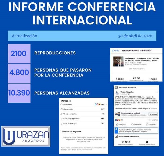 Colombia Virtual Conference Report