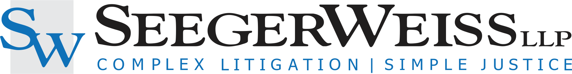 Two Seeger Weiss Practices Selected Law360 Practice Group of the Year
