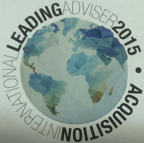 Acquisition International Leading Adviser 2015
