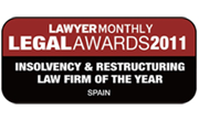 Insolvency & Restructuring Law Firm of the Year, Spain